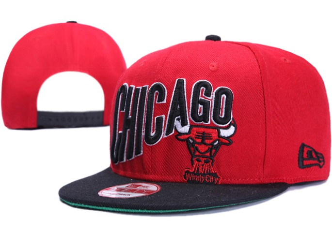 Chicago Bulls NBA Snapback Hat XDF023